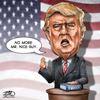Today's cartoon: No more Mr. Nice Guy